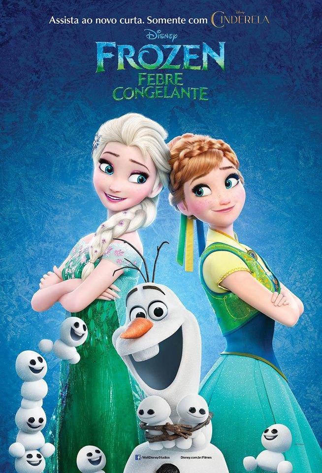 frozen febre poster